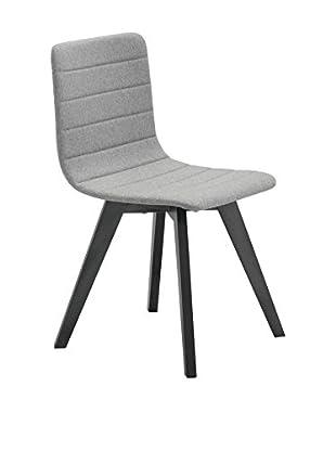 Domitalia Flexa Chair, Light Grey Wool