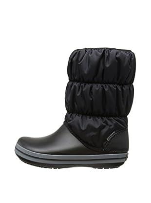 Crocs Botas de Nieve Winter Puff (Negro)