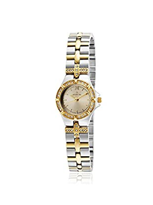 Invicta Women's 17064 Wildflower Crystal Accented Two Tone Stainless Steel Watch