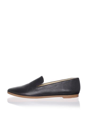 Matt Bernson Women's Gitanes Smoking Shoe (Black)