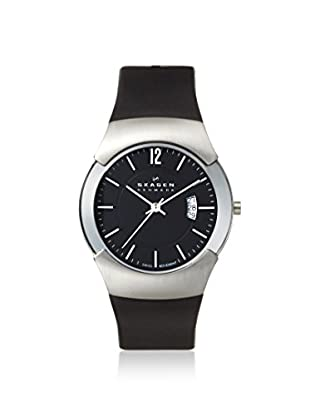 Skagen Men's 981XLSLB Black Label Stainless Steel Watch
