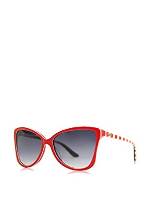 Moschino Sonnenbrille 69905-SA (58 mm) rot/weiß/rot