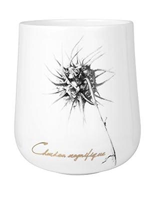 Lene Bjerre Frances Large Tealight Candleholder, White