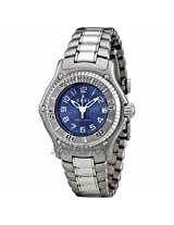 Ebel Discovery Blue Dial Stainless Steel Ladies Watch 9087321/4665P