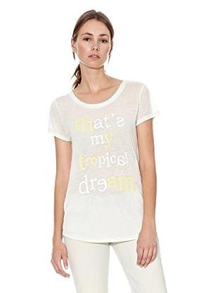 Mango Camiseta Sorbete (Verde Agua)
