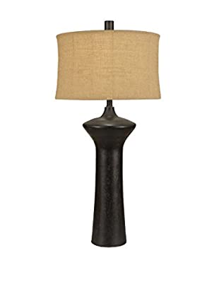 Surya Textural Bronze Table Lamp