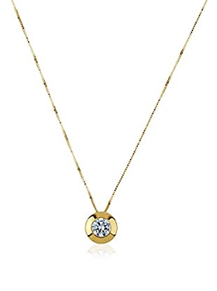 Gold & Diamonds Set catenina e pendente Sunflower oro giallo 18 Kt