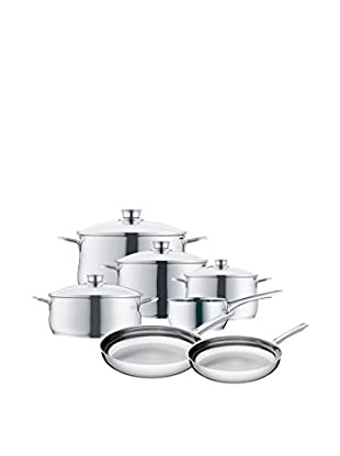 WMF Diadem Plus 11 Pc. Cookware Set, Stainless Steel Grey