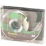 住友スリーエム(3M) スコッチ(R) メンディングテープ ディスペンサー付 18mm×30m 810-1-18D