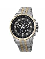 August Steiner Black Mens Watch As8118Ttg