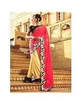 Awesome Fab Self-desined Chiffon Sari