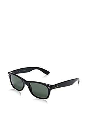 Ray-Ban Gafas de Sol Polarized New Wayfarer 2132 901/ 58 (52 mm) Negro
