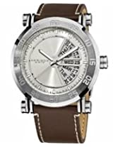 Akribos Silver Dial Stainless Steel Mens Watch Ak552Ss