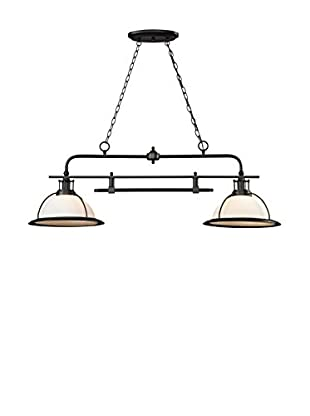 Artistic Lighting Wilmington 2-Light LED Island/Billiard Light, Oil Rubbed Bronze