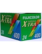 10 Rolls of Fujifilm Fujicolor 400 Superia X-TRA 24 Exp Film