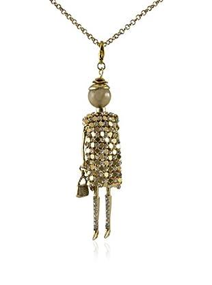 MUSAVENTURA Collar  Doll Gold 1 Dorado