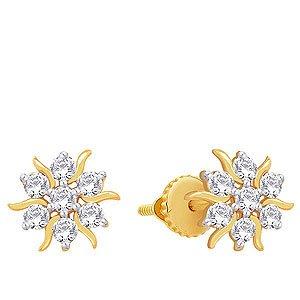 Nakshatra Diamond Earring NERA172C