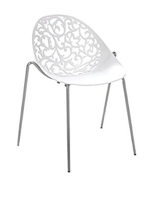 Contemporary Living Special Chairs & Co. Stuhl 4er Set Eura weiß