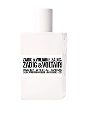 ZADIG&VOLTAIRE Damen Eau de Parfum This Is Her 30 ml, Preis/100 ml: 126.5 EUR