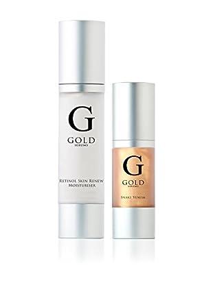 Gold Serums Gesichts-Anti-Falten SerumSchlangengift + Feuchtigkeitsspendende Anti-Aging Tinktur mit Retinol