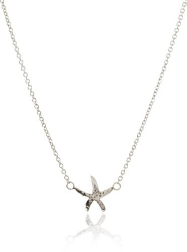 Catherine Angiel Starfish Pendant Necklace