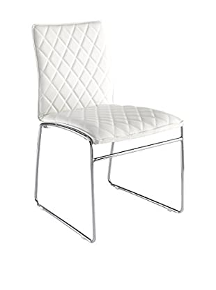 Contemporary Home Set Silla 4 Uds. Mesh Blanco