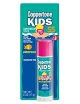 Coppertone Kids Sunscreen Stick, SPF 55, .6 oz.