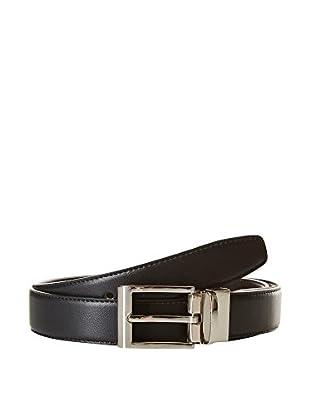 Ortiz & Reed Ledergürtel Black Reversible Leather Belt