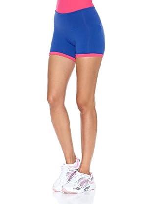 Naffta Short Active / Gym (Azul Noche / Fucsia)