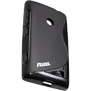 nCase PFBC-8562BK Back Cover for Nokia 520 (Black)