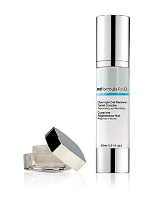 MD FORMULA  Beauty-Set 2 tlg. Eye Serum regenerating Night, Overnight Cell Renewal