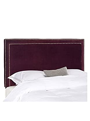 Safavieh Cory Headboard, Full Size, Bordeaux