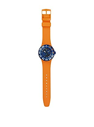 Swatch Quarzuhr Unisex Unisex Serifos 44 mm