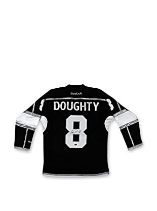 Steiner Sports Memorabilia Drew Doughty Los Angeles Kings Autographed Black Jersey With Stanley Cup Patch