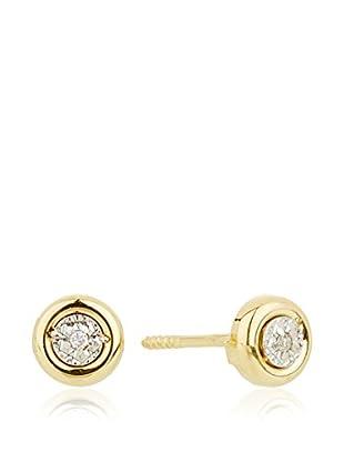 Silver One Ohrringe  18 Karat Gold