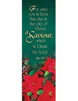 Savior Christmas Bookmark (Pk 25)