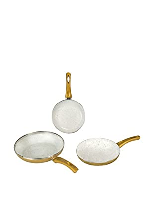 NEWCHEF Set Sartén 3 Uds. Golden NL6424