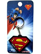 WB Superman Rubber Keychain R 244