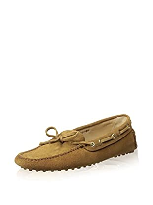 Car Shoe Women's Driver Moccasin (Beige)