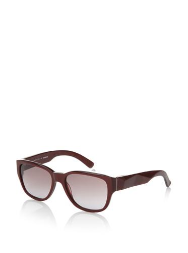 Jil Sander Women's Faceted Sunglasses, Bordeaux