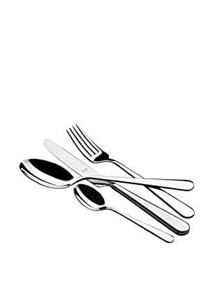 Mepra Stoccolma 24-Piece Cutlery Set, Silver