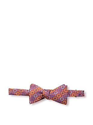 Bruno Piattelli Men's Floral Bow Tie, Red Multi