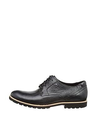 Rockport Zapatos Ledge Hill Plain Toe V75368 (Negro)