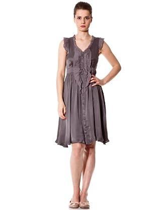 Naf Naf Vestido (gris medio)