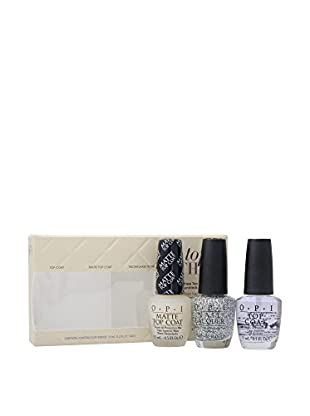 OPI Set Esmalte 3 Uds. Top This Three Coats Nail 45 ml