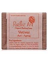 Rustic Art Organic Vetiver Soap 100 grams