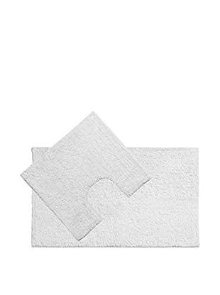 Premier Housewares Bad Teppich 2tlg. Set 1605306 weiß
