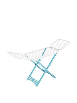 Italiadoc Wäscheständer Plast 20 himmelblau/weiß