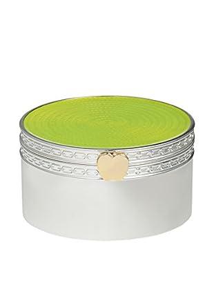 Vera Wang Wedgwood Treasures with Love Lime Green Apple Treasure Box