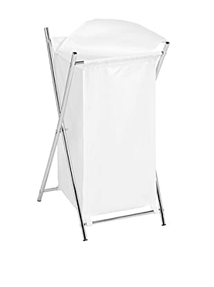 Honey-Can-Do Single-Sorting Folding Hamper, White